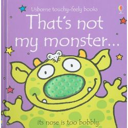 Touchy-Feely Books: That's Not My Monster