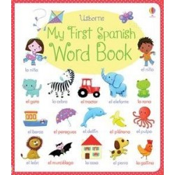 Usborne My First Spanish Word Book