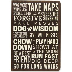 Journal Mid Subway Art Dog Wisdom