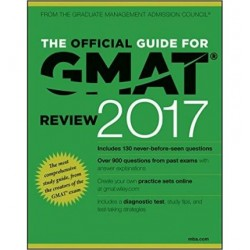 The Official Guide for GMAT Review 2017 with Online Question Bank and Exclusive Video