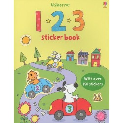 First Sticker Book 123