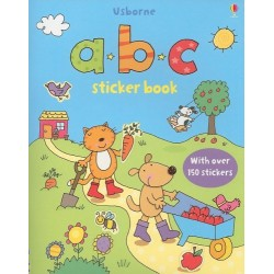 First Sticker Book ABC