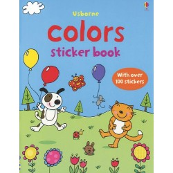 First Sticker Book Colors