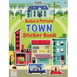 Build a Picture Town Sticker Book