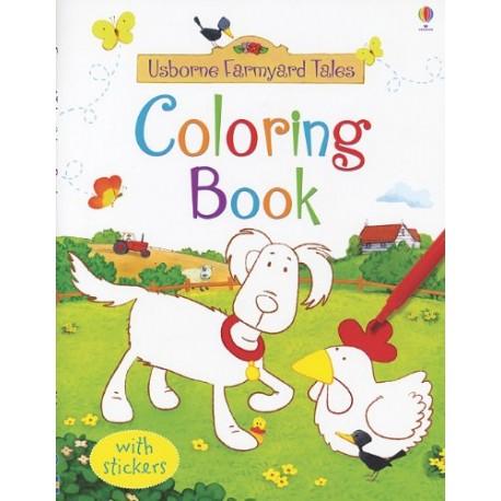 usborne farmyard tales coloring book - Usborne Coloring Books