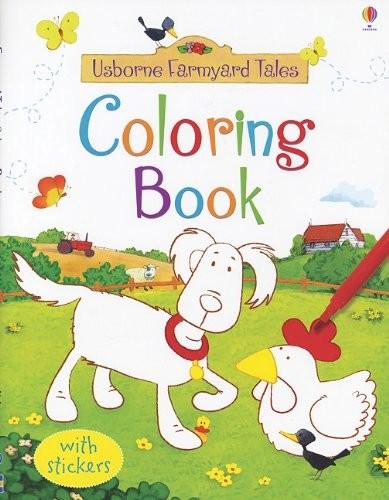 usborne farmyard tales coloring book bookworm bookstore - Usborne Coloring Books
