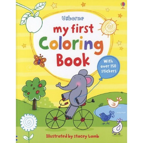 My First Coloring Book - Bookworm Bookstore